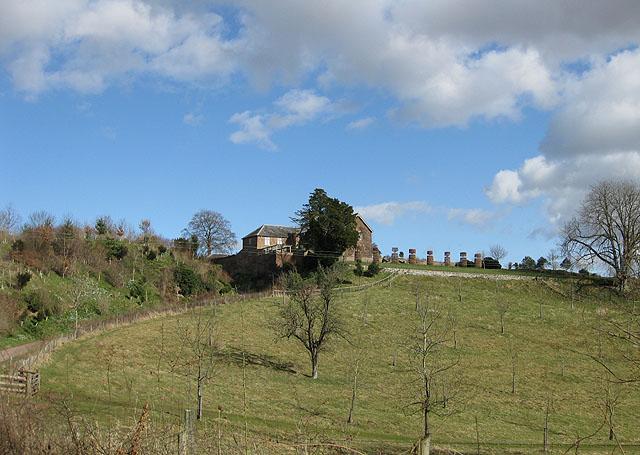 House on a hilltop