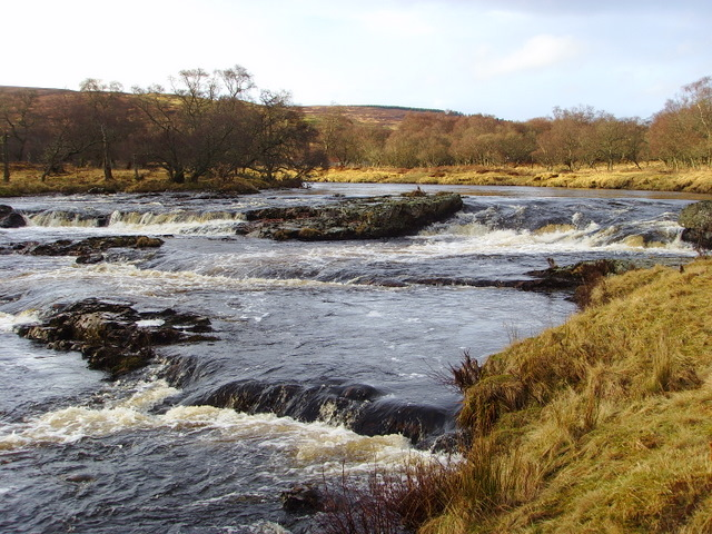 Rapids on the River Helmsdale