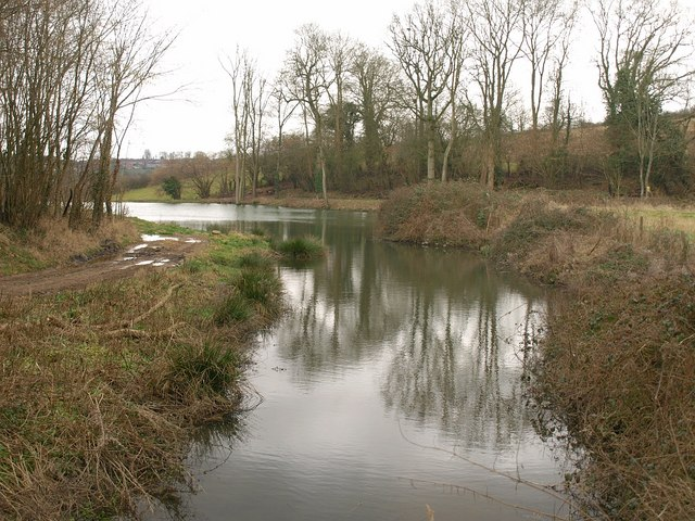 Pond near Woodborough House
