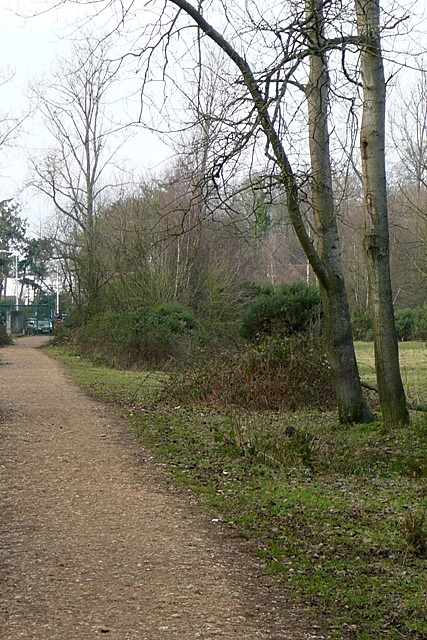 North-western exit from Greenham Common