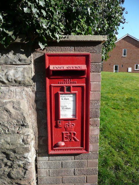Postbox on Ledbury Road, Ross-on-Wye