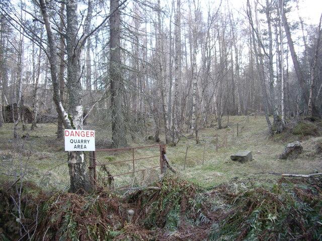 Craiglash Quarry Area