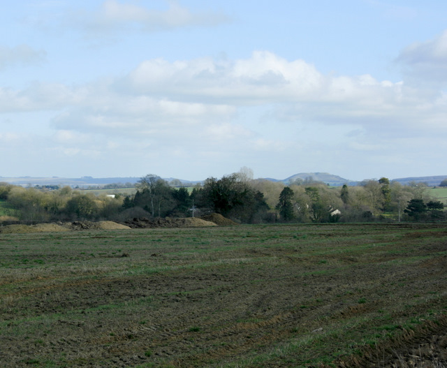 2009 : Looking east over Nunney