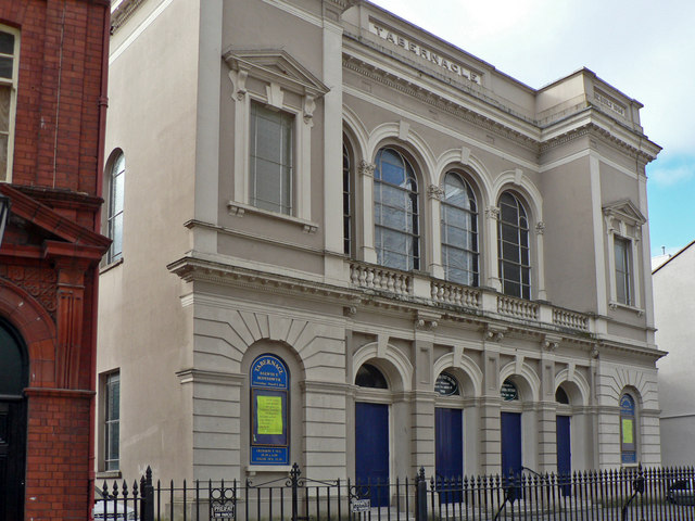 Tabernacle Welsh Baptist Chapel, The Hayes, Cardiff