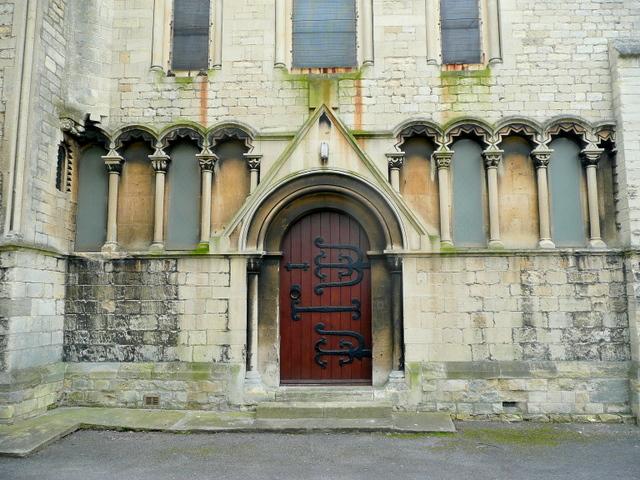 St. Peter's church, Cheltenham - west end