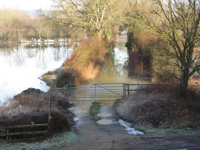 Flooding at Bear Mead