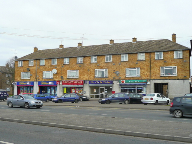 Parade of shops, Tewkesbury Road, Cheltenham