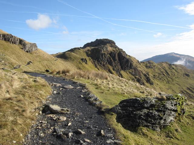The Pyg Track towards Bwlch y Moch