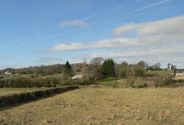 Toward Westra from the Cardiff/Bridgend line.
