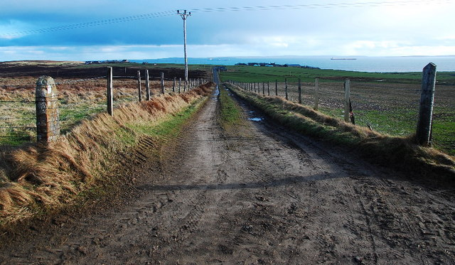 Track to the A964