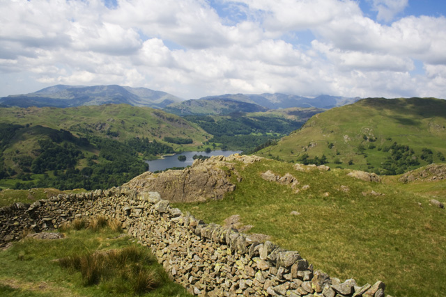 Rydal Water from Low Pike