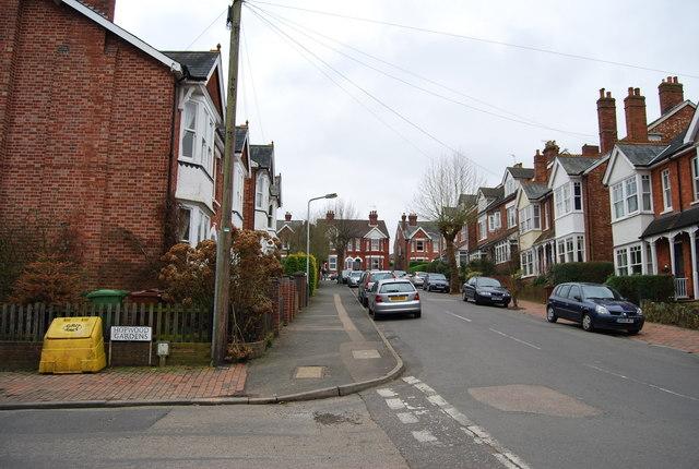 Somerset Rd, Hopwood Gardens junction