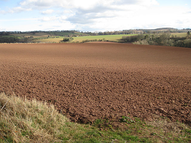 Red soil of Herefordshire