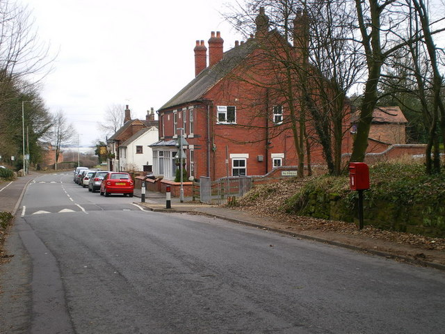 Cottages on the old Shifnal Road