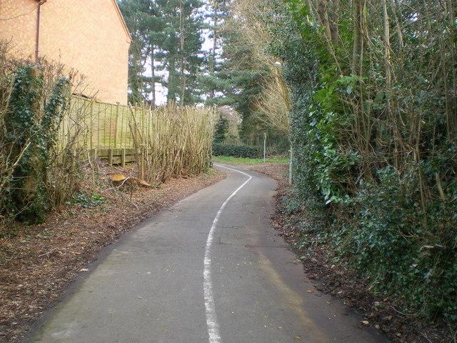 Cycleway in Priorslee