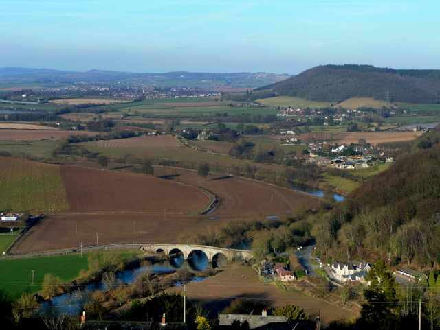 Kerne Bridge and the Wye Valley