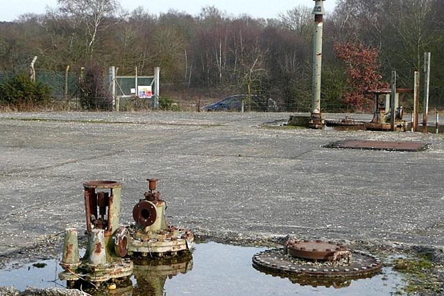 Greenham Common fuel depot