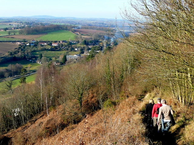Descending Coppet Hill 2
