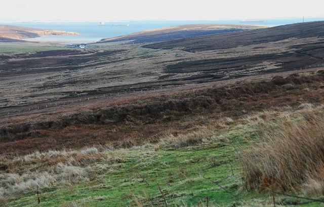 Moorland below Burgir