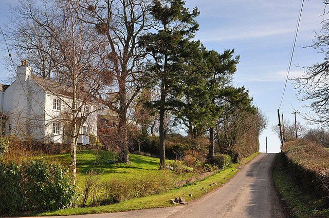 Country road, Rowlestone