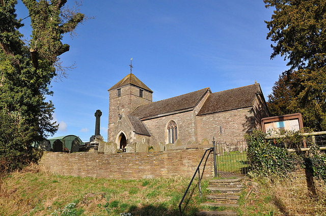 Rowlestone church