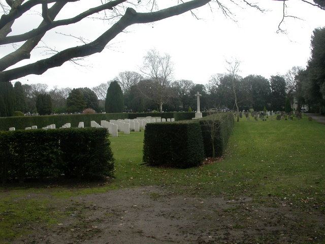 Bournemouth North Cemetery, war graves.