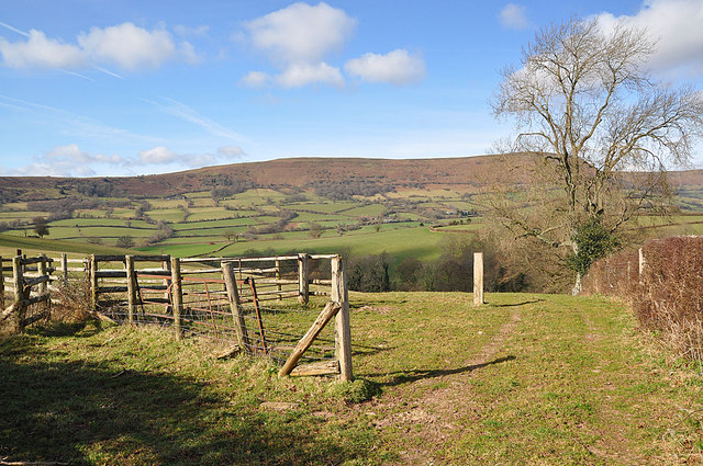 Towards the Black Mountains