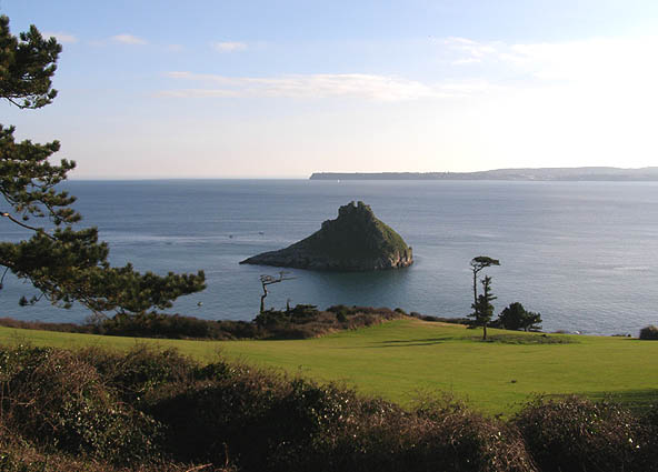 Thatcher Rock with Berry Head beyond