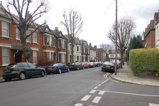 Junction of Grafton Road and Baldwyn Gardens, Acton, W3