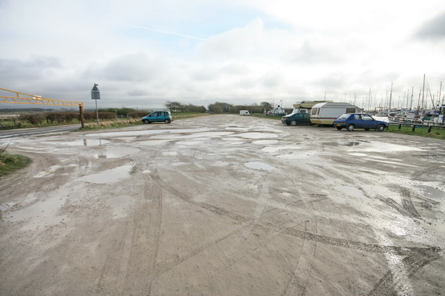 Car Park at Glasson Dock