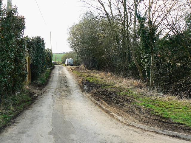 Minor road near Preston