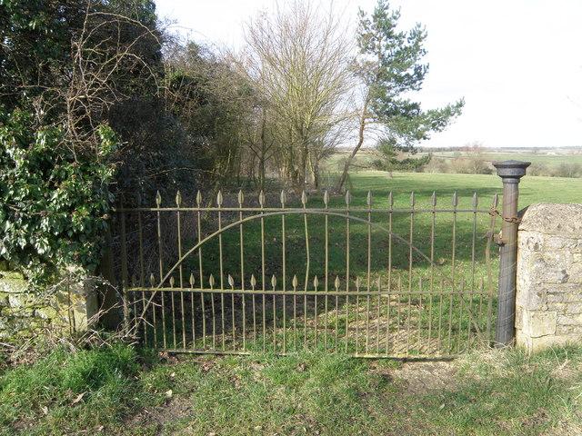 Park Gate near Stoke Doyle