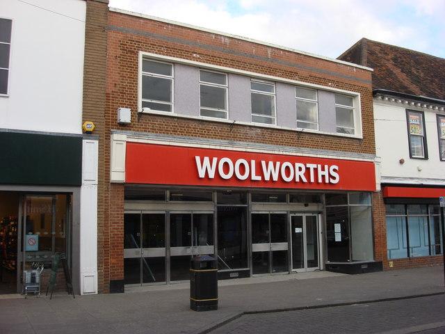 Former Woolworths store, Sudbury