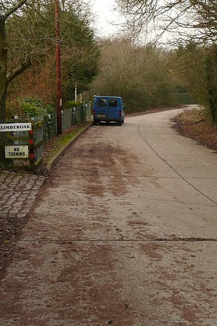 Road past Limberoak