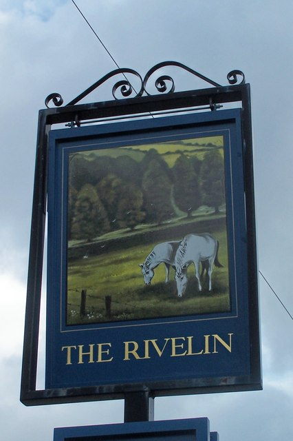 The Rivelin Pub Sign, Tofts Lane, Rivelin Valley, Sheffield