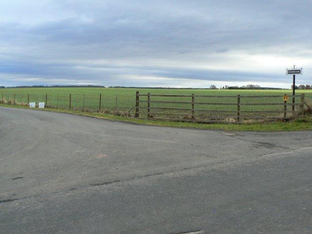 Innergask farm road end
