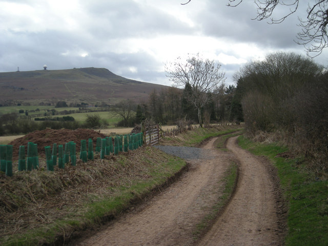 'The Jack Mytton Way' as it nears Titterstone Clee