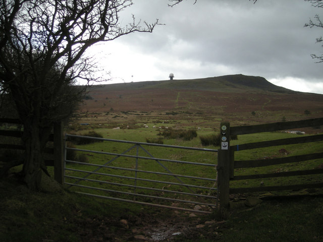 'The Shropshire Way' near Callowgate