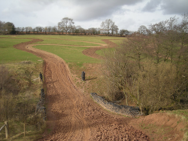 Motor Cycle Scrambling Track