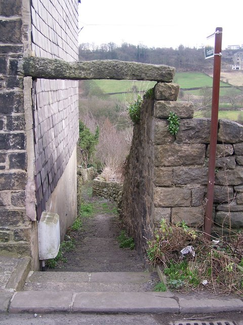 Roscoe Bank Footpath, Rivelin Valley, Sheffield