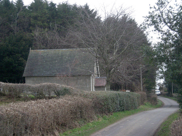 Lane past Blackford Chapel