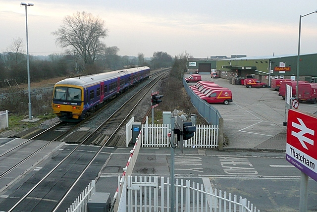 Thatcham level crossing