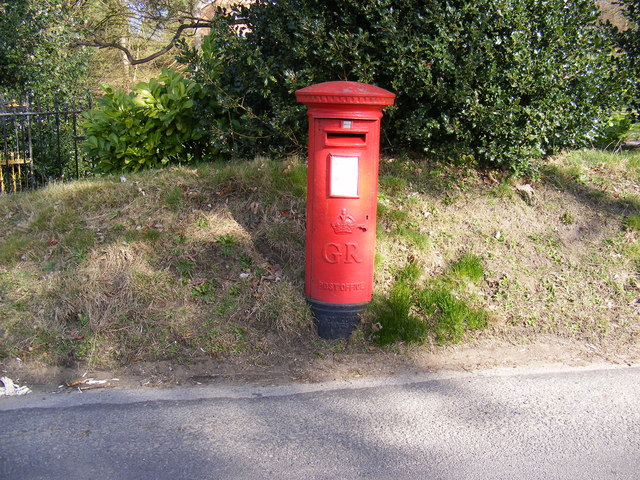 Purdis Croft Bucklesham Road George V Postbox