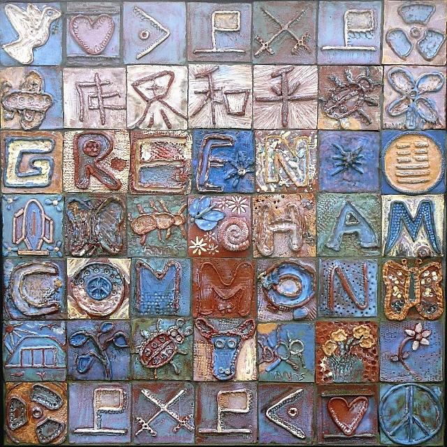 Greenham Common memorial
