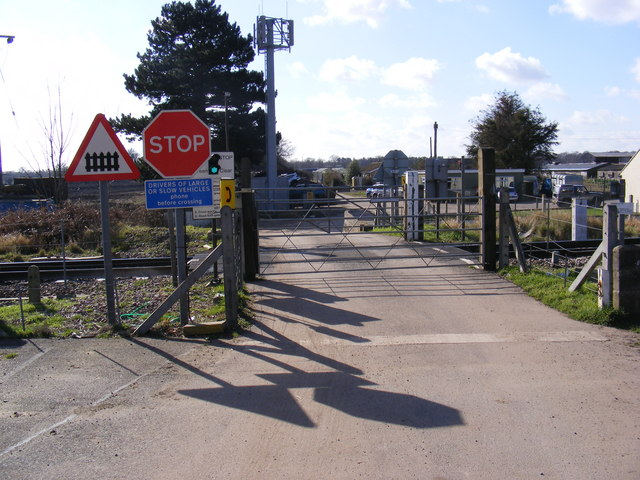 Level Crossing  off Felixstowe Road
