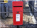 TM2141 : Shepherd & Dog Public House Postbox by Adrian Cable