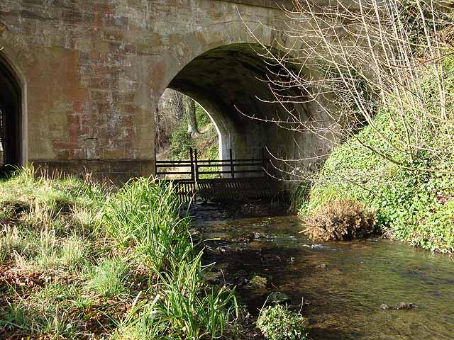 Bridge over Howick Burn