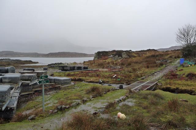 The path to Boreraig