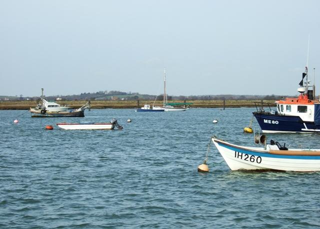 Mersea Fleet and Thorn Fleet