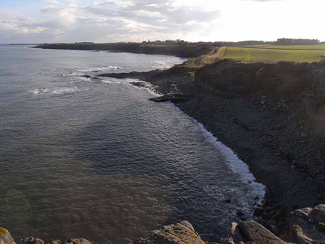Bay to the south of Cullernose Point